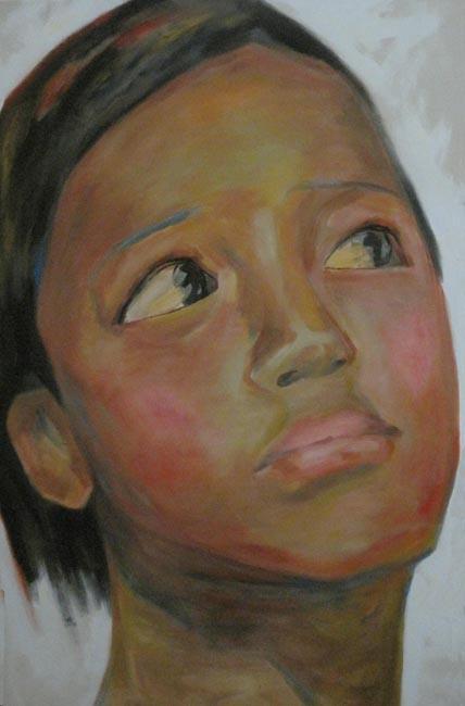 Cai Xi Portraits: Sister 5