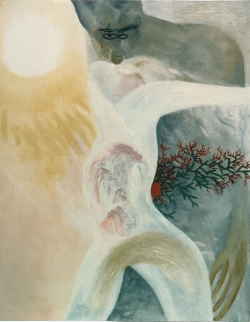 Lovers 2, by Cai XI Silver, February 1988, 30 by 24""
